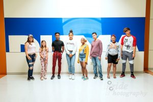 Image of students who participated in the 2019 INDFW Youth Designer Challenge